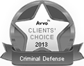 Avvo Criminal Defense Attorneys Award - 2019